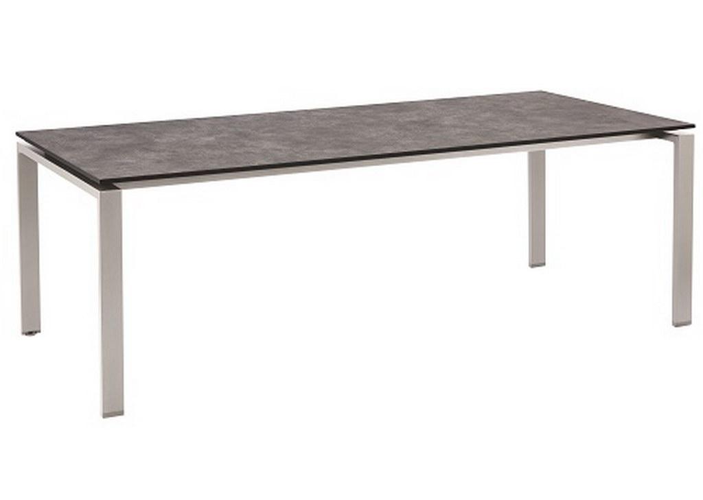 float-tafel-HPL-220x100-zilver-antraciet
